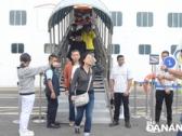 Hơn 2.300 khách đến Đà Nẵng bằng đường tàu biển